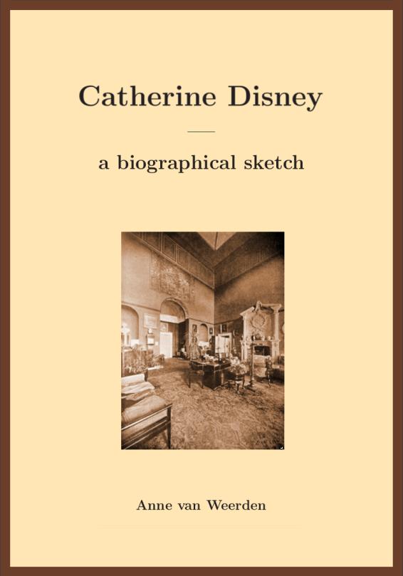 Catherine Disney - a biographical sketch