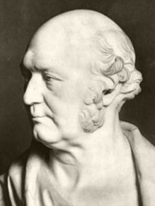 Sir William Rowan Hamilton bust TCD